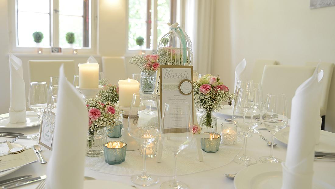 Hochzeitsglück Minden, Petershagen, Bad-Oeynhausen - Hochzeitsdekoration und Tischdekoration
