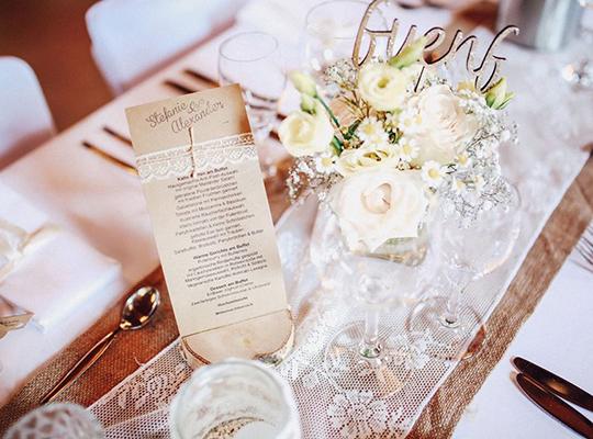 Hochzeitsdekoration vintage shabby bohostyle verspielt romantisch klassisch - Hochzeitsdekoration vintage ...