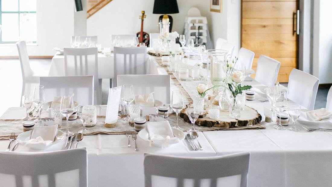 Tischdekoration und Hochzeitsdekoration im Umkreis Minden, Petershagen und Uchte vom Hochzeitsglück