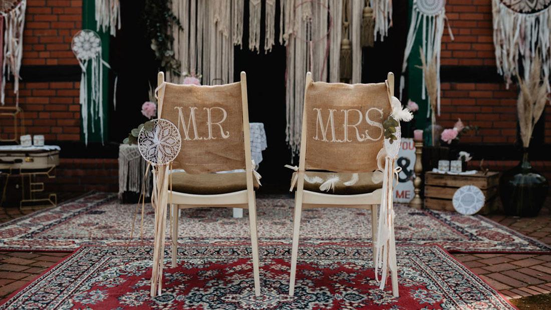Freie Trauung Boho Vintage Hochzeit Hochzeitsglück Minden