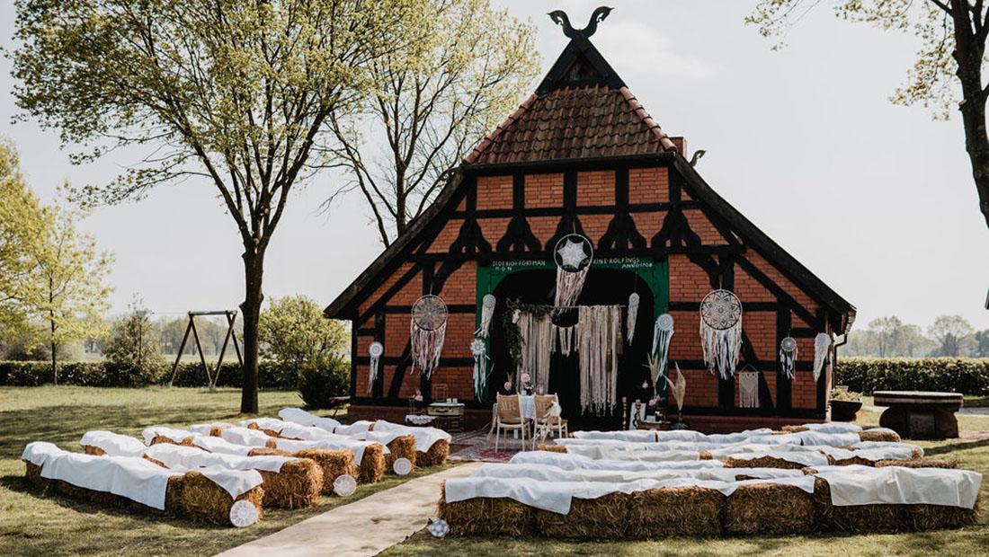 Freie Trauung Boho Hochzeit Hochzeitsglück Minden Bielefeld Herford