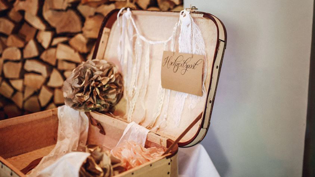 Individuelle Hochzeitsdekoration von Kristina Krug für die Region Minden-Lübbecke