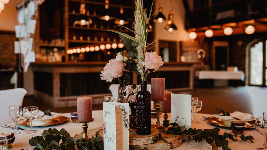 Hochzeiten Eukalyptus Dekoration Minden Petershagen Uchte Herford Hochzeitsglück