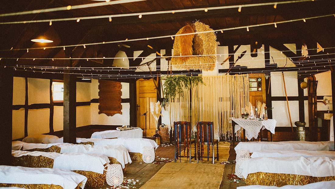 Hochzeitsglück Freie Trauung-Scheune Dekoration Minden Petershagen