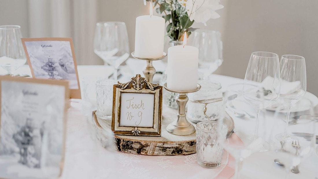 Hochzeitsglück Hochzeitsdeko Verleih Tischzahlen Minden Petershagen Uchte