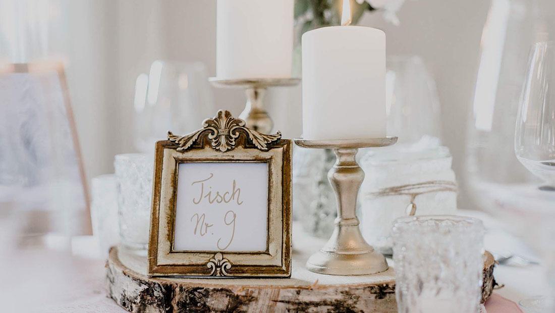Hochzeitsglück Hochzeitsdeko Verleih Tischzahlen Minden