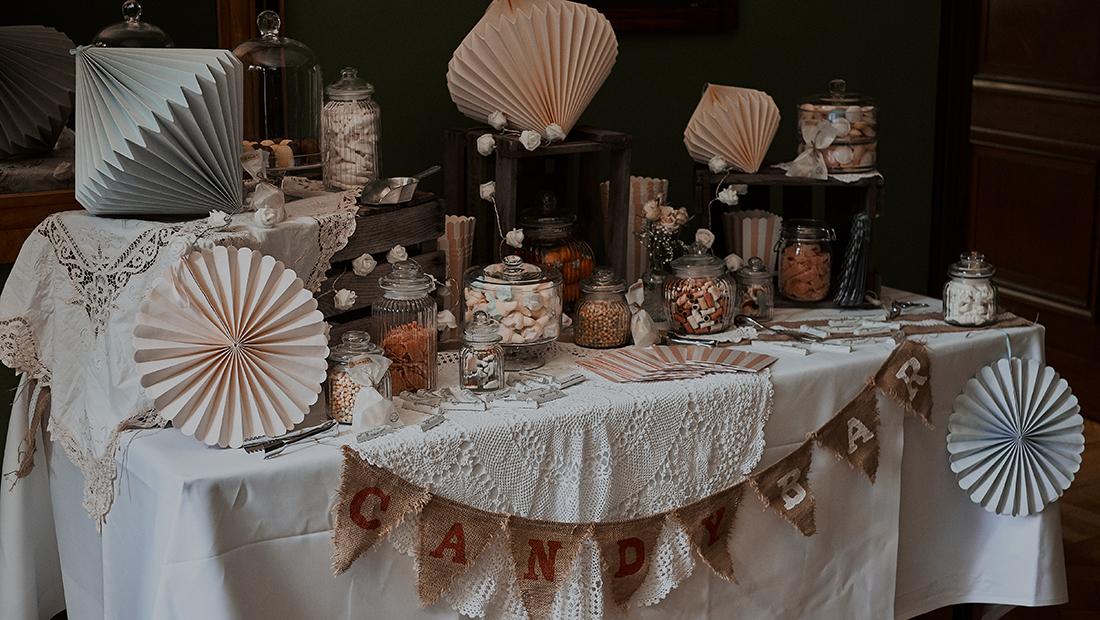 Vintage Candy-Bar in Minden, Bielefeld, Herford und Uchte vom Hochzeitsglück