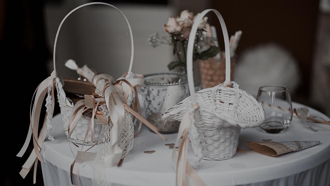 Vintage Hochzeitsdekoration mit Hochzeitsglück von Minden über Bielefeld bis Herford