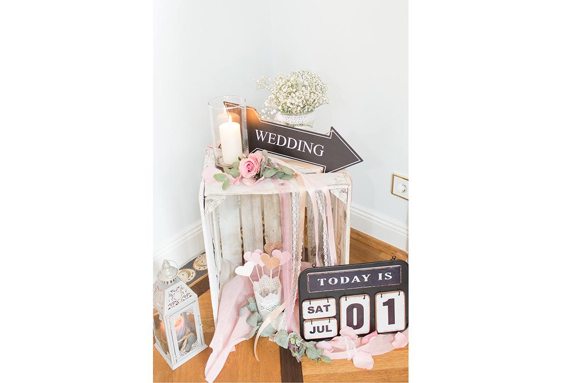 Mit viel Liebe zum Detail - Hochzeitsdekoration von Kristina Krug vom Hochzeitsglück aus Minden