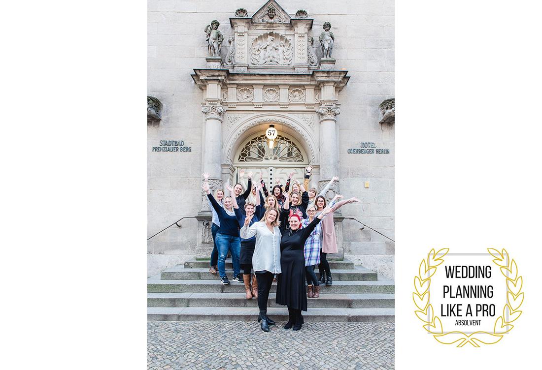 """Absolventen Workshop """" Wedding like a Pro"""" in Berlin - Hochzeitsglück Hochzeitsdeko aus Minden"""