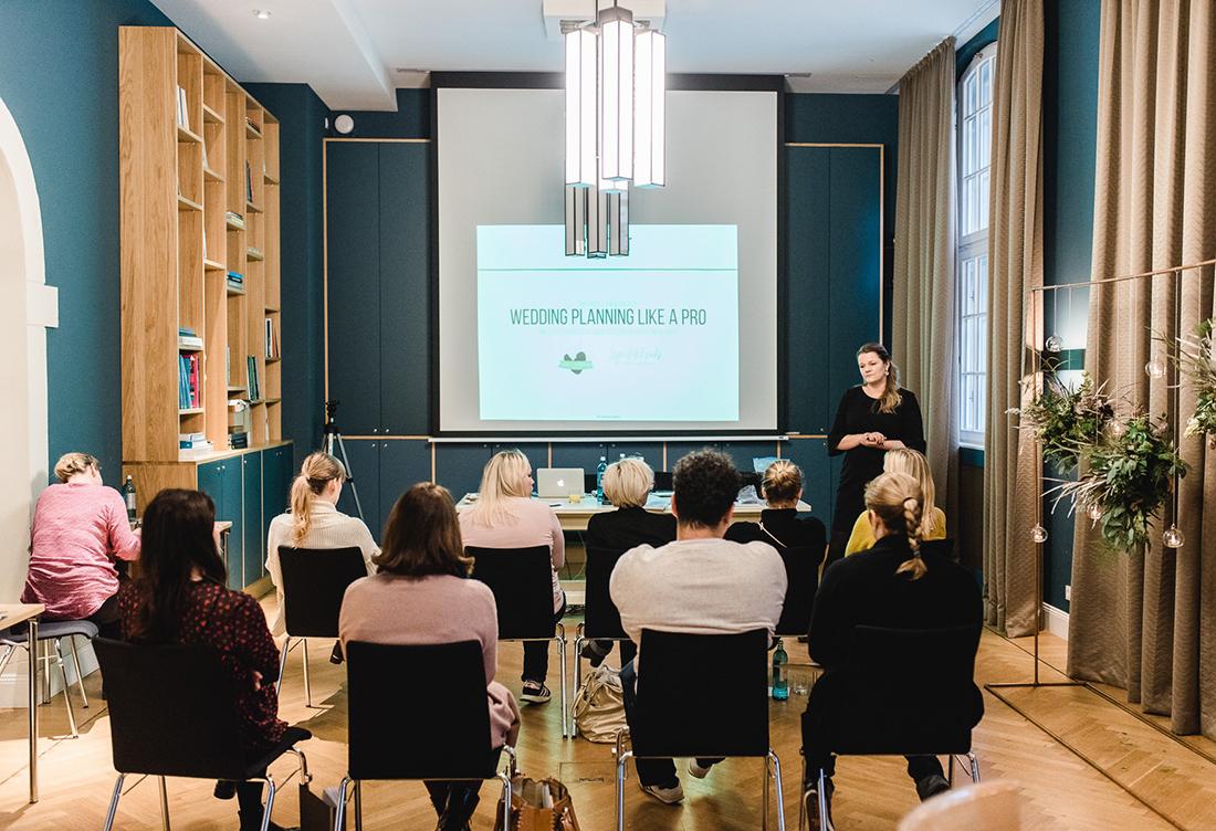 """Workshop """" Wedding like a Pro"""" in Berlin - Hochzeitsglück Hochzeitsdeko aus Minden"""