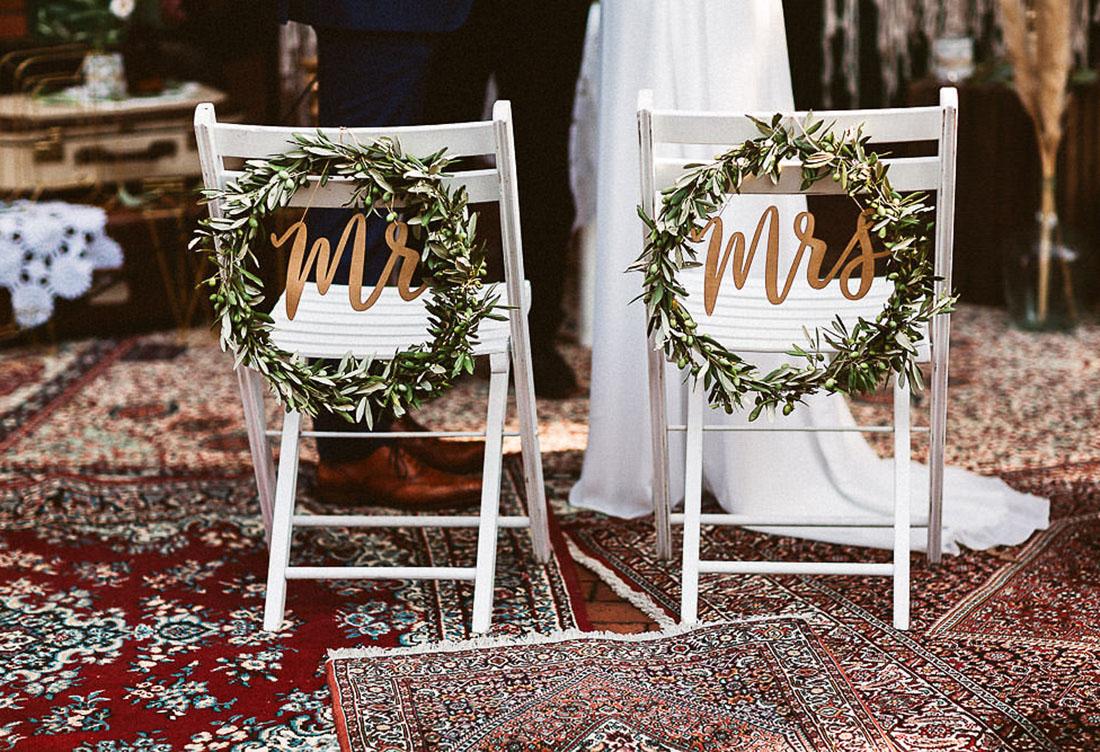 Freie Trauung Hof Frien mit Boho-Elementen – Hochzeitsdekoration vom Hochzeitsglück bei Uchte im Raum Minden