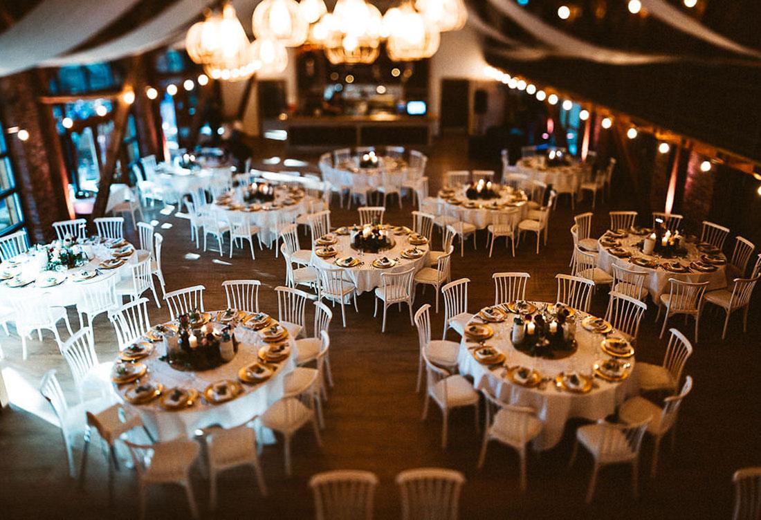 Tischdeko vom Hochzeitsglück auf dem Hof Frien bei Uchte im Raum Minden
