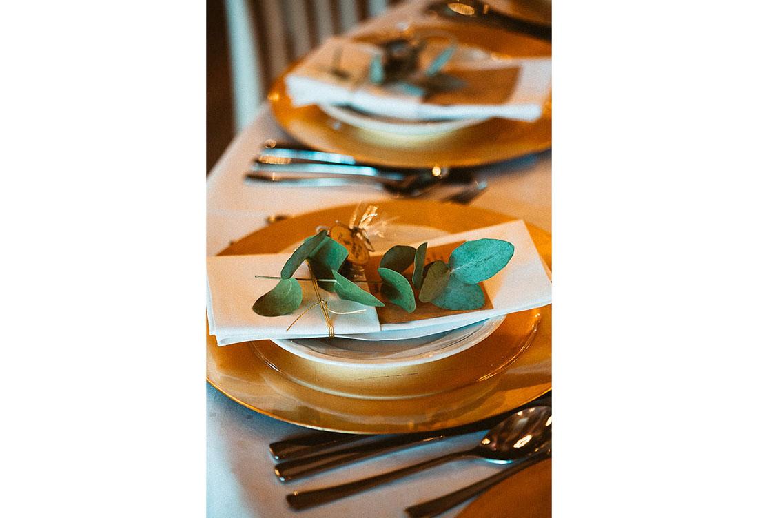 Tischdeko zur Hochzeit vom Hochzeitsglück auf dem Hof Frien bei Uchte im Raum Minden