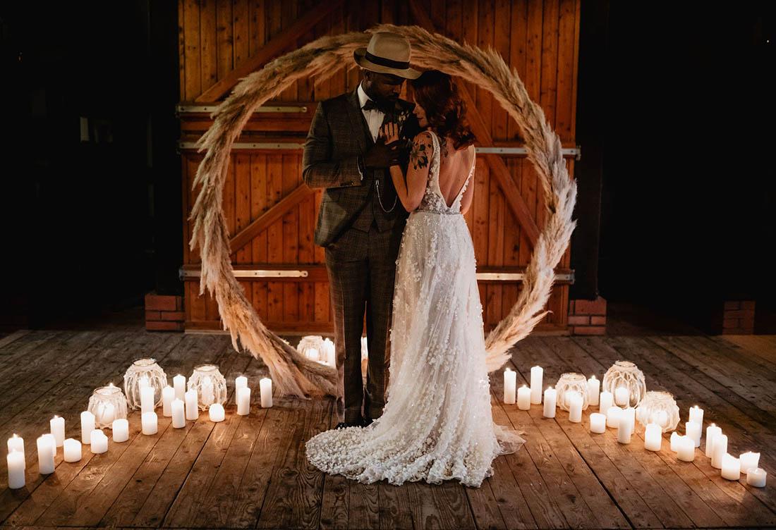 Wintershooting Hochzeit