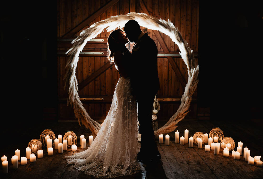 Hochzeit – Wintershooting