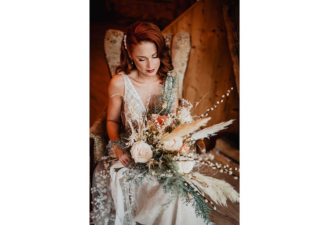 Hochzeitsdeko und Floristik für Ihre Winterhochzeit vom Hochzeitsglück aus Minden